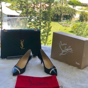 CHRISTIAN LOUBOUTIN❤️55mm 17th Floor Pointy Pumps